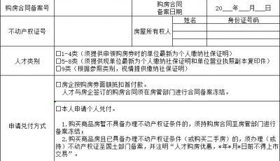 泰州人才购房券兑付申请表在哪里下载?缩略图