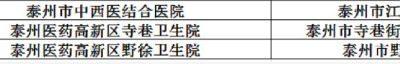 泰州市医药高新区【中国医药城】新冠疫苗接种点在哪里?缩略图