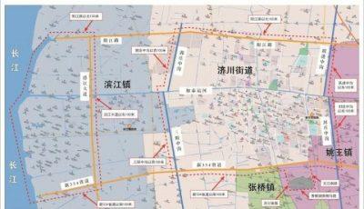 泰兴市烟花爆竹禁放区域地图缩略图