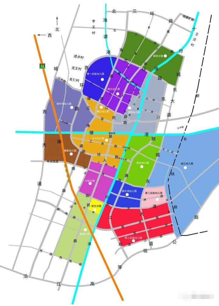 靖江市幼儿园学区划分【施教区范围】插图